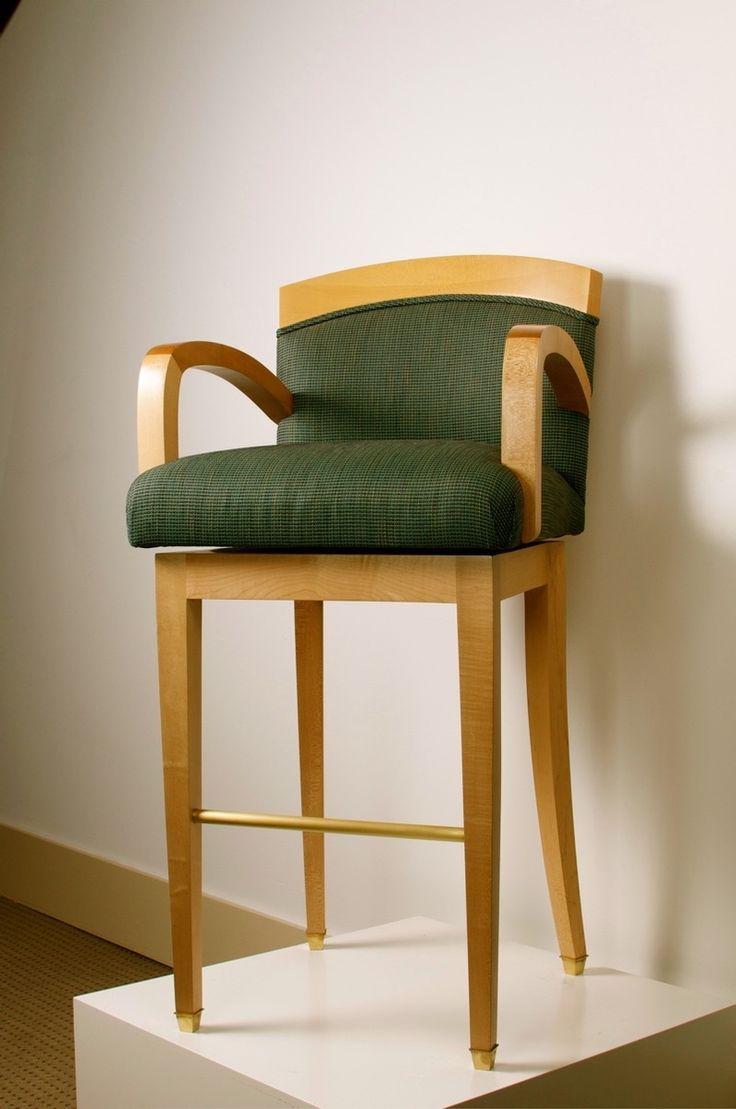 New Custom Upholstered Counter Stools