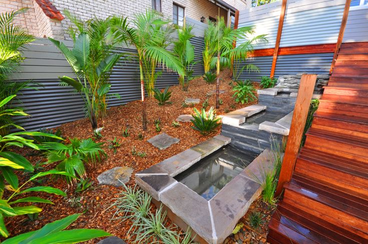 Three tier water feature