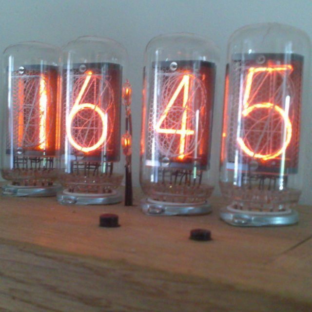Zm1042 4 digit nixie clock# nixie# vintage#electronics#arduino#rtc#real time clock by lukemorgan1969