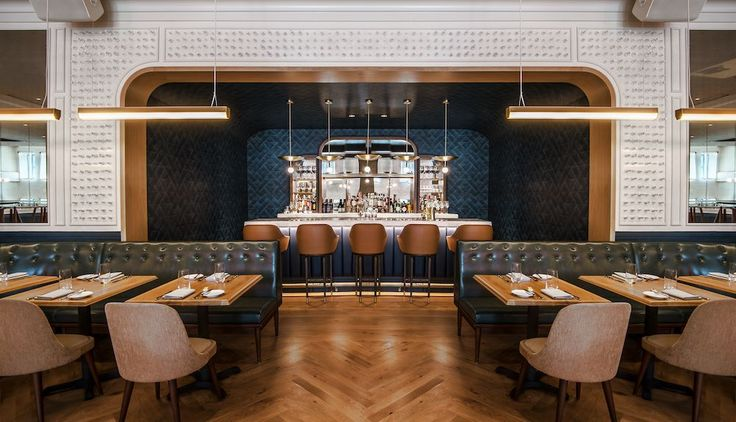 De bästa idéerna om restaurant interior design på