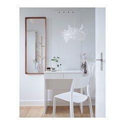 IKEA - BRIMNES, Toucador, , Com espelho integrado e arrumação oculta, para o ajudar a organizar a sua bijutaria e maquilhagem.Gavetas com travão para se manterem no lugar.