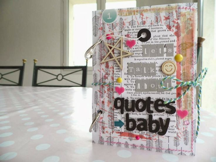 Scrap Kits & Co: SKC kit de mars - Let's talk about quotes baby par Soraya