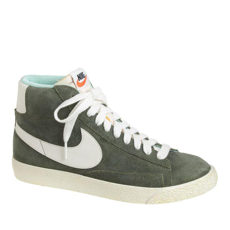 Nike Blazer Des Femmes Des Bottes En Daim Vert