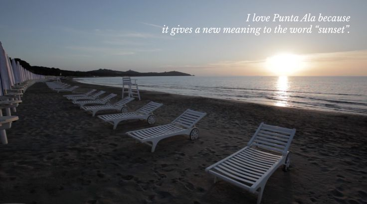 """I love Punta Ala because it gives a new meaning to the word """"sunset"""" #WhyILovePuntaAla"""