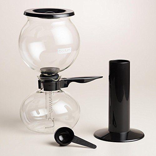 Bodum Pebo Stovetop Vacuum Coffee Maker - World Market - http://teacoffeestore.com/bodum-pebo-stovetop-vacuum-coffee-maker-world-market/