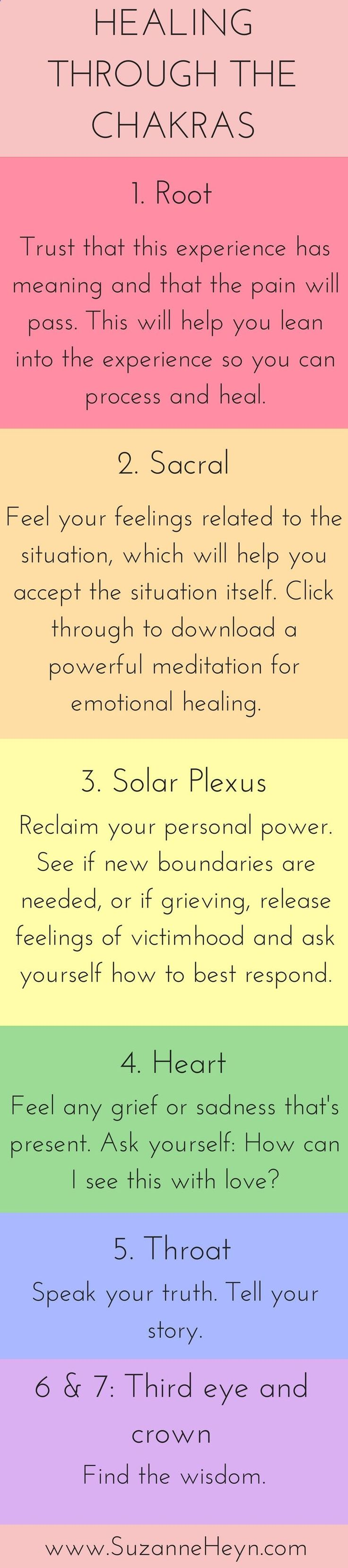 Click through for a powerful free meditation for emotional healing. Discover how to heal through the chakras. Spiritual seekers looking to heal depression, anxiety, grief and more will benefit from this inspirational healing tool for peace, happiness and joy. #mediationfordepression
