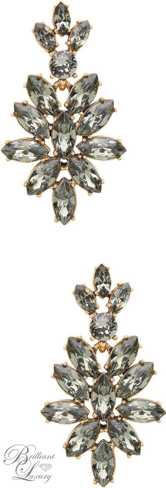 ♦Oscar de la Renta Earrings 2016