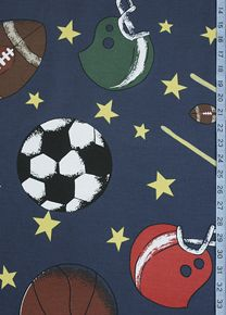Ball Park Futon Cover Is A Novelty Pattern Depicting All American P Time Bats And Mittens In Colors On Navy Blue Background