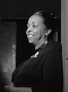 "Ethel Waters (October 31, 1896 – September 1, 1977) was an American blues, jazz and gospel  vocalist and actress. She frequently performed jazz, big band, and pop music, on the Broadway stage and in concerts, although she began her career in the 1920s singing blues.    Her best-known recordings includes, ""Dinah"", ""Stormy Weather"", ""Taking a Chance on Love"", ""Heat Wave"", Waters was the second African American, after Hattie McDaniel, to be nominated for an Academy Award."