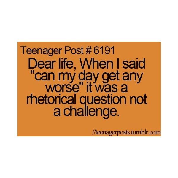 teenager post   Tumblr ❤ liked on Polyvore