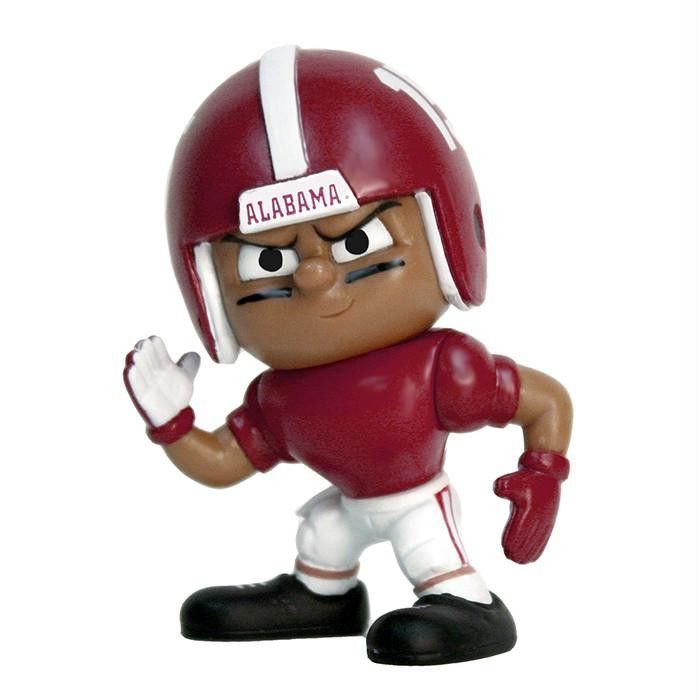 Lil Teammates Series Alabama Crimson Tide Wide Receiver Figurine (Edition 4)
