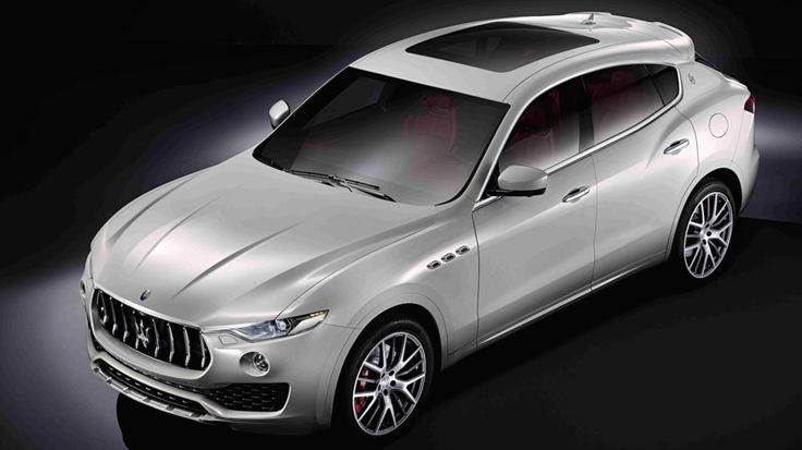 Maserati just unveiled a diesel-powered SUV (yes, really)