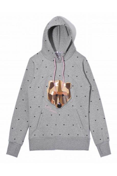 Femi Pleasure sweatshirt YOGI ash grey melange