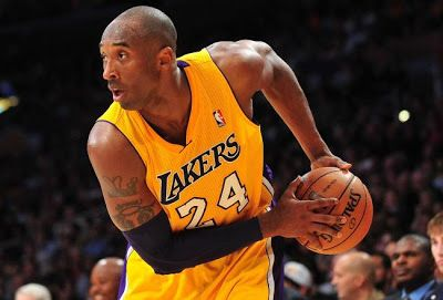 Kobe Bryant Looking In Action