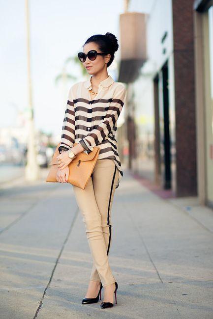 Tuxedo Stripes - via @kennymilano#IDEMTIKOsay muy interesante rayas horizontales con una vertical en el pantalón me gusta mucho esta idea...