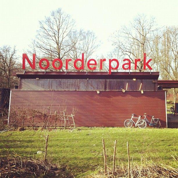 Noorderpark in Amsterdam, Noord-Holland