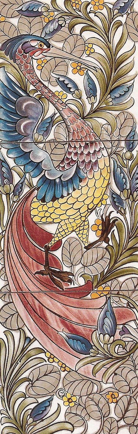 William Morris wallpaper design (arts & crafts movement)