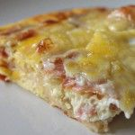 Σουφλέ με ψωμί του τόστ και τυριά