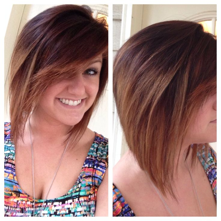 Long Angled Bob Ombre Images & Pictures - Becuo