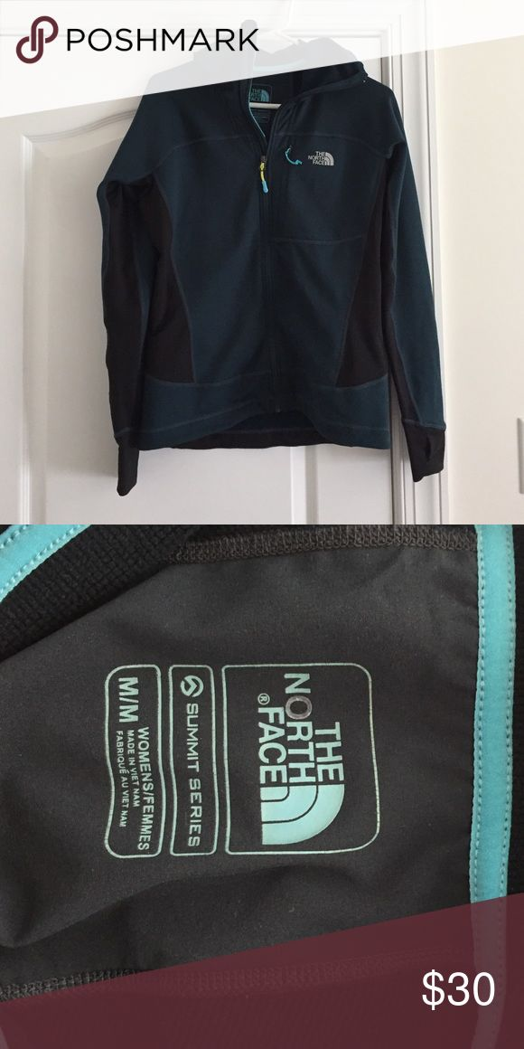 North Face zip hoodie sz. M. Excellent Condition North Face zip hoodie. Sz. M excellent Condition. Purchased at outlet worn twice! North Face Tops Sweatshirts & Hoodies
