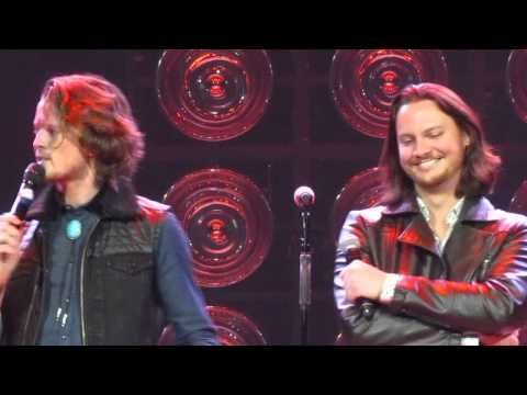 Tim Foust of Home Free twerking in his Guilty Pleasure at The Ryman 3-12-14 - YouTube