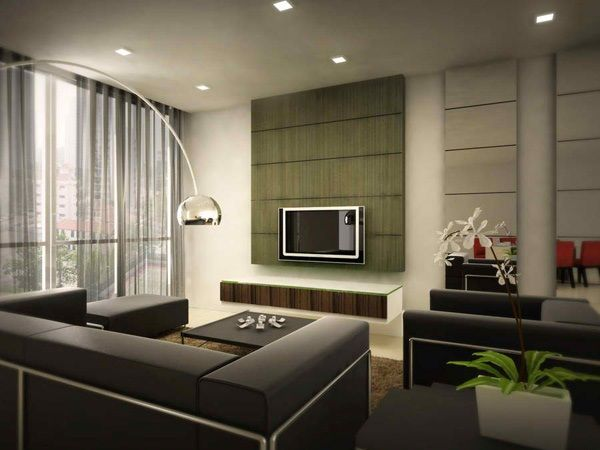 Simple and futuristic home living room with indoor plant decoration of  architect Cochin64 best Living Room images on Pinterest   Living room ideas  . Contemporary Apartment Living Room. Home Design Ideas