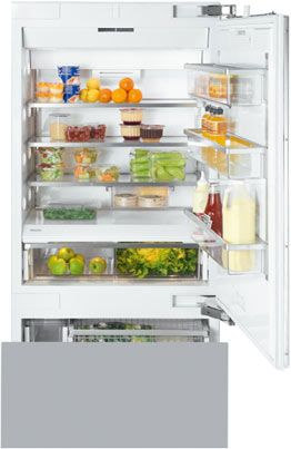 Miele bottom freezer-refrigerator for built-in designs