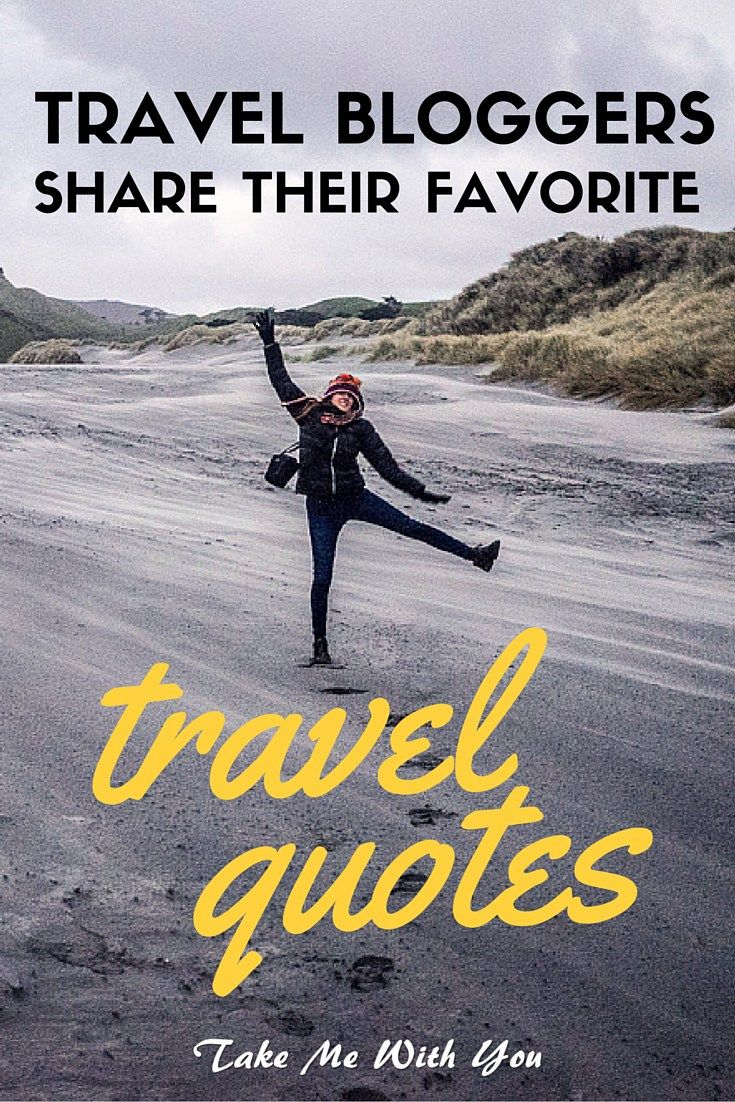 Craving wanderlust inspiration? Pin now for the best travel quotes from top travel bloggers.