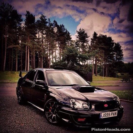 Used 2003 Subaru Impreza STI for sale in Padiham | Pistonheads