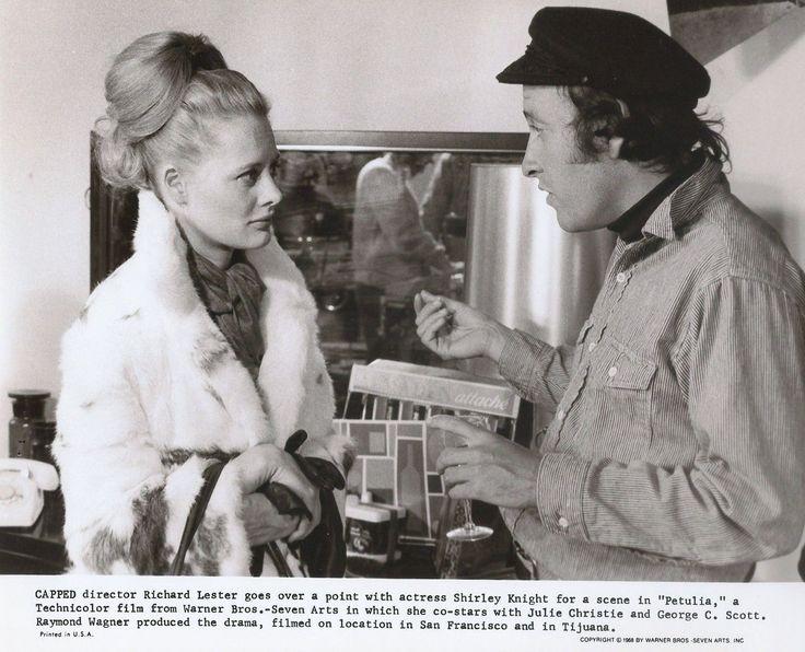 Petulia 1968; Shirley Knight with Director Richard Lester | eBay