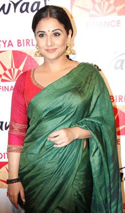 Chanderi silk to Kanjivaram: The Vidya Balan saree collection
