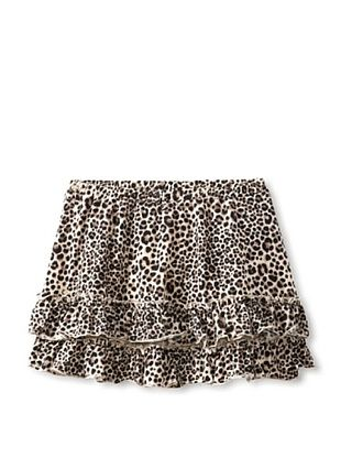 70% OFF Millions Of Colors Girl's Leopard Ruffle Skirt (Leopard)