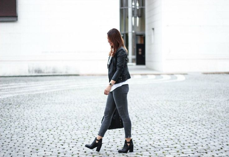 Blogger Streetstyle - black ASH Floyd booties