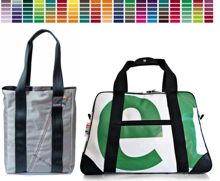 Les sacs bilum sont depuis 2006 fabriqués à partir de bâches publicitaires récupérées. Nouveauté 2010 : des modèles confectionnés en toiles d'Airbags.