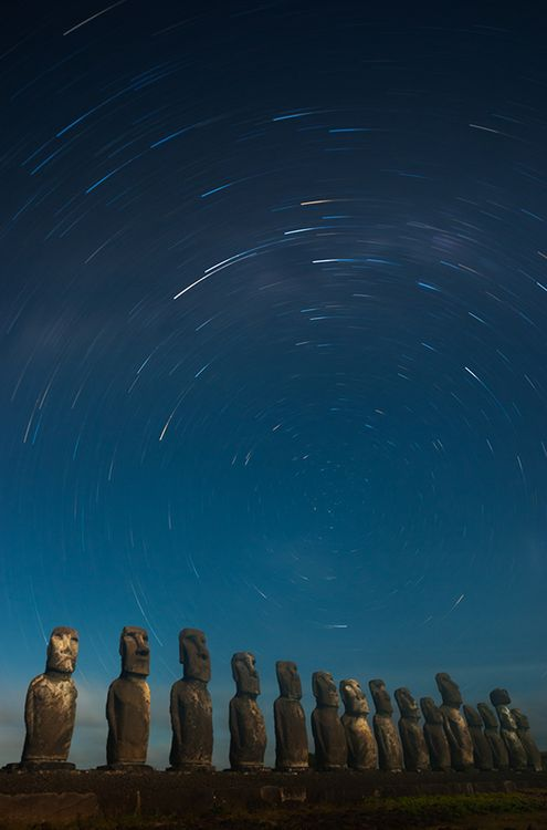 Photo by Olivier Boëls; Easter Island, Chile