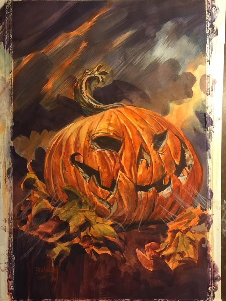 dan breretons jack o lantern painting used for james a moore s this jack o lanternhalloween artshort storiesjames - Halloween Short Stories Middle School