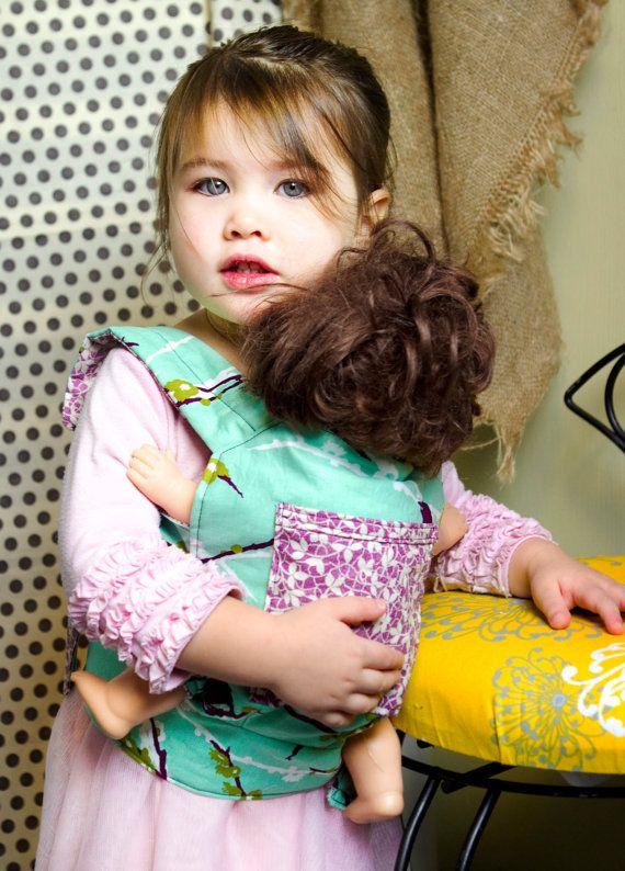 Baby Doll Carrier PDF patrón por 3BeansStudio en Etsy