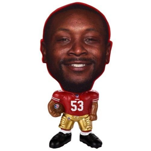 Kick your collection of San Francisco 49ers-inspired memorabilia up a notch this season when you get this fantastic NaVorro Bowman Flathlete figurine! This piece is destined to quickly become your new favorite 49ersitem!