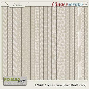 A Wish Comes True [Plain Kraft Paper]