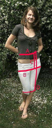Pencil skirt tutorial ...a better pencil tutorial for NON stretchy (so non jersey, non knit) materials. more involved, but once you took the time to draft one pattern for yourself, you can use it over and over;)