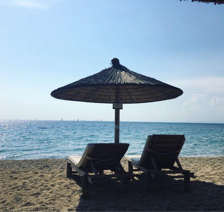 Spending a day at the @portocarras beach!   #PortoCarras #Summerishere #Halkidiki #Sithonia #vacation #summer #sea #seaside
