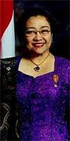 23.07.2001-20.10.2004 Executive President Megawati Sukarnoputri, Indonesia  When Megawati Setyawati Soekarnoputri became leader of the Democratic Party in 1993, she triggered the opposition against President Quarto. In 1999 her party won the most seats in the Parliament, but Abdulrahman Wahid was elected President. This caused serious riots all over the country and she was elected vice-President the following day. In August 2000 the ailing President Wahid charged her with the running of the…