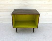 FREE SHIPPING!!!  The Wee Record Player Stand Mid Century Modern Record Cabinet…