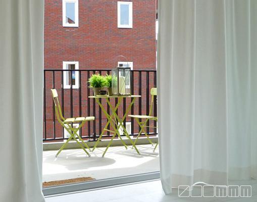 Meer dan 1000 idee n over balkon gordijnen op pinterest balkons muurstickers en gordijnen - Gordijnen voor overdekt terras ...