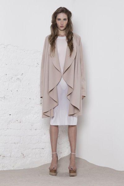 www.store.odivi.cz ODIVI nude coat SS14