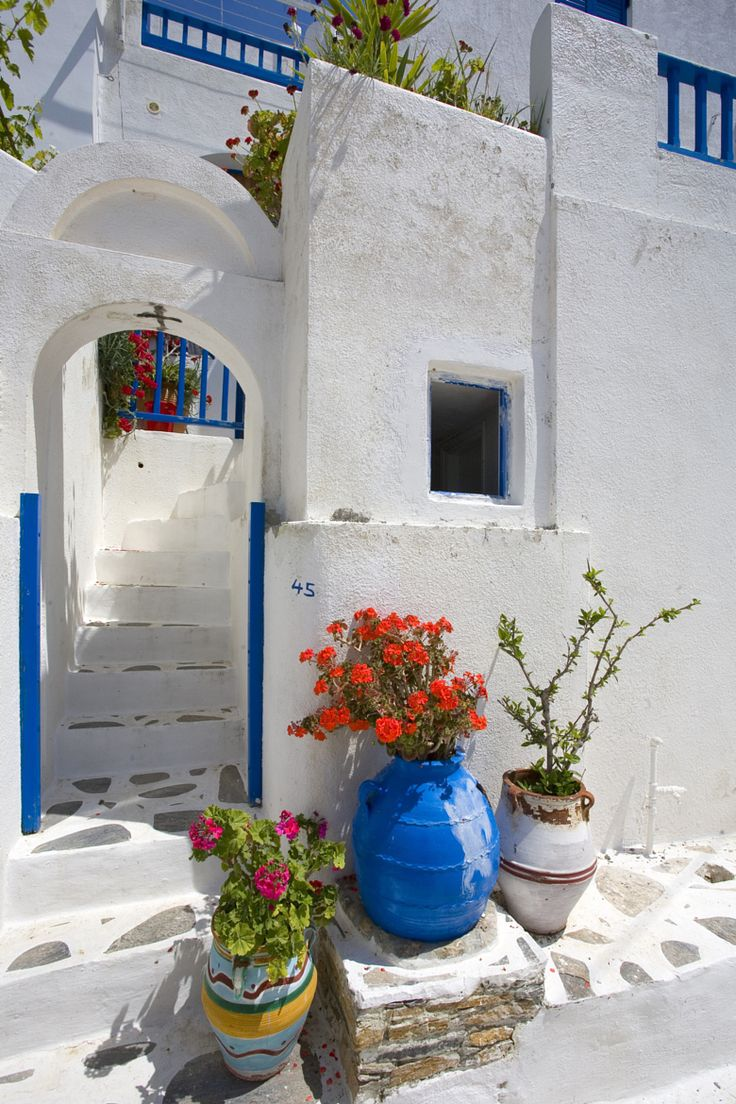 Τholaria village, Amorgos, Greece