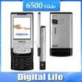 6500S Original Nokia 6500 Slide Cell Phones 3G Bluetooth Mp3 Player 3.15MP Phone