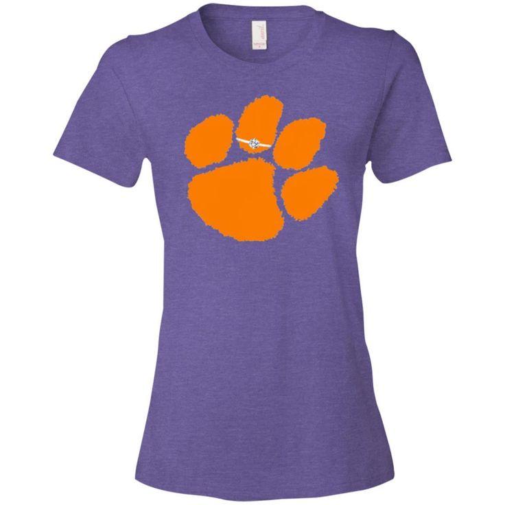 Clemson Paw Ring Ladies' T-Shirt