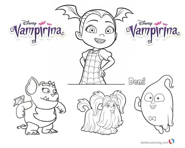 25 Marvelous Photo Of Vampirina Coloring Pages Disney Coloring