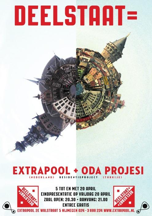 Deelstaat= #extrapool #poster #redbol